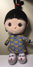 "Despicable Me 2 Agnes Doll Plush 15"" Stuffed Animal Universal Talking Light Up"