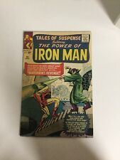 Tales Of Suspense 54 Fn+ Fine+ 6.5 Iron Man