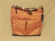 OiOi Red Print Hobo Baby Changing Bag #6607 Free Shipping