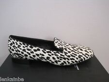 YSL Yves Saint Laurent Animal Print Fur Slipper Flats Shoes $725 40 10