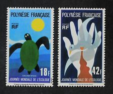 CKStamps: France Stamps Collection French Polynesia Scott#289 290 Mint H OG