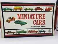 1966 Mattel Inc 40 Slot Carrying Case for Miniature Cars for HOT WHEELS MATCHBOX