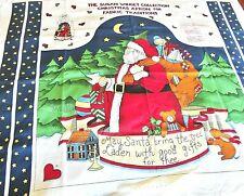 Vintage Susan Winget Christmas Apron Craft Panel,Fabric Traditions