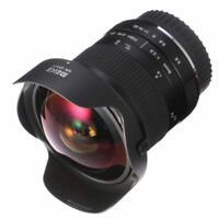 Pro 8mm F3.5 Manual Fisheye Lens for Canon EF-M Mount EOS M M2 M3 M5 M6 M10 M100