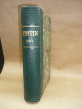TINTIN : RELIURE ANNEE 1950  (Edition Belge)   T.B.E.