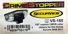 NEW Crimestopper VS-185 CMOS Color Custom Fit Camera for 2008-2011 Honda Accord