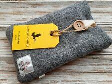 Harris Tweed Fabric Glasses Case Sun Reading Glass Phone iPhone Handmade Gift ❤