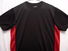 Tramposo - Negro y Rojo - Ligero Poliéster - Talla Mediana Camiseta