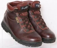 Vasque Sundowner GTX Brown Leather Lace-Up Ankle Hiking Boots Men's US 7.5