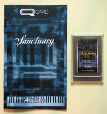 Alesis Sanctuary QCard with Booklet, Case, LIFETIME Warranty! QS QSR Card