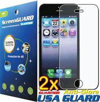 2x Anti Glare Matte LCD Screen Protector Guard Film Apple iPhone 5 5S 5C 5th USA
