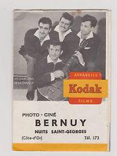 pochette photos tirage KODAK - Photo Ciné BERNUY Nuits St Georges