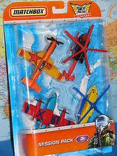 Matchbox Skybusters Missioni Sikorsky Airblade Blaze Buster Stunt Devil 4 Pack