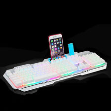 Cool Multimedia 3 colors illuminated LED Backlight USB Wired PC Gaming Keyboard