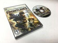 Frontlines XBOX 360 Microsoft