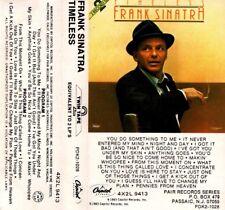 "FRANK SINATRA ""TIMELESS"" CASSETTE 1983 capitol"