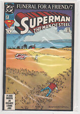 Superman The Man of Steel #21 Funeral For a Friend  9.6
