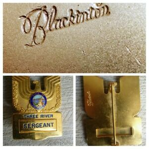 Rare Badge Police (Obselete) . Model Of Seller Blackinton/Sample/Model