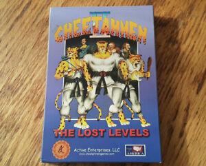 Cheetahmen II The Lost Levels original box and manual nintendo nes Proto #653