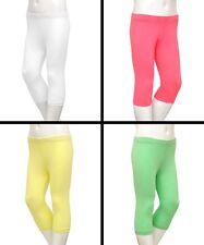 Girls Zara Cotton Cropped 3/4 Leggings  (Age 3 4 5 6 7 8 9 10 11 12 13 14 Years)