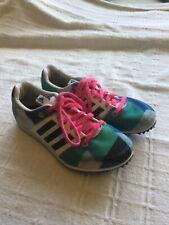 Girls Adidas Running Spikes  Size UK 2 used VGC