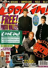 Look-In Magazine 4 April 1992    Shannen Doherty & Jason Priestley   Fred Savage