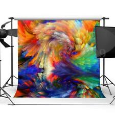 Colorful Thin Vinyl Photography Backdrop Background Studio Photo Props 10x10ft