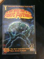 New Adventures of the Toxic Avenger, The Comic Book #1 Troma NEW!