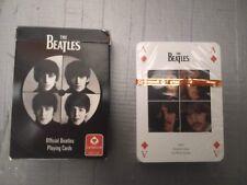 The Beatles Carte da gioco Official Playing Cards - Cartamundi 2008 Still Sealed