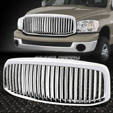 CHROME VERTICAL FRONT BUMPER GRILL GRILLE FOR DODGE RAM 1500 2500 3500 2006-2008