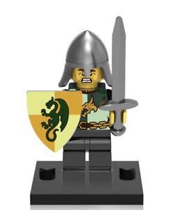 NEW Mini figure DRAGON KNIGHT Infantry Sword Series Minifigure UK STOCK