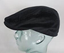 KANGOL CORD FLATCAP Schirm Mütze Cap Cotton Baumwolle Kord Kappe schwarz Neu
