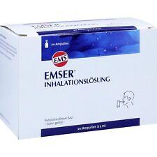 EMSER Inhalationslösung    20 st   PZN 8491724