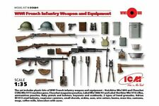 ICM 35681 1/35 WWI French Infantry Weapon and Equipment