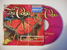 ZHI VAGO : CELEBRATE THE LOVE [ CD SINGLE PORT GRATUIT ]