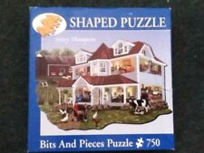 **bits and pieces 750 piece puzzle granny's farm **