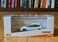 Tarmac Works 1/64 Honda Civic EG6 Gr.A Racing Plain White Spoon US seller Rare!