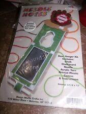 Design Works Cute BASEBALL Needle Notes Door Hanger Plastic Canvas Kit