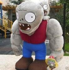 New Gargantuar Zombie Plants VS Zombies Stuffed Soft Doll Plush Baby Toys 28CM
