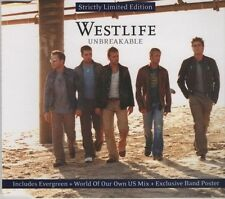 WESTLIFE Unbreakable LTD EDITION 3  TRACK CD + POSTER   NEW - NOT SEALED