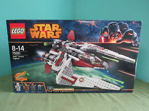 LEGO Star Wars 75051 Jedi Scout Fighter Retired 2014 SEALED