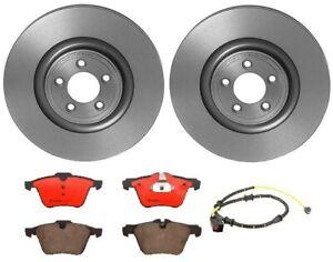 Brembo Front Brake Kit Ceramic Pads 355 mm Disc Rotors for Jaguar XF XJ 3.0L AWD
