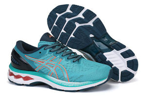 Hot ASICS Spring summer women's running shoes lake blue GEL-KAYANO 27