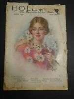 VINTAGE MAGAZINE HOLLAND'S THE MAGAZINE OF THE SOUTH APRIL 1928
