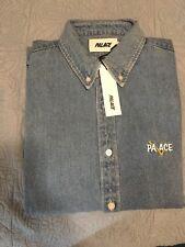 563e125f49ec Palace Skateboards Correct Denim Shirt Stone Wash Size Medium