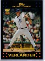Justin Verlander 2017 Topps Update All Rookie Cup 5x7 #ARC-33 /49 Tigers