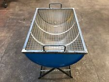 HEAVY DUTY LARGE HALF OIL DRUM BBQ*****FREE DELIVERY*****