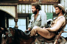 Terence Hill Bud Spencer on horseback They Call Me Trinity 24x36 Poster
