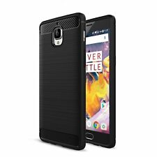 For OnePlus 3 3T Carbon Fibre Gel Case Cover Shockproof & Stylus Pen