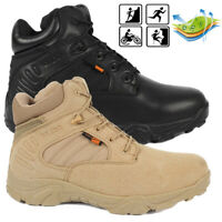 New Mens Military Tactical Delta Desert Combat Army Deployment Boots Work Hiking